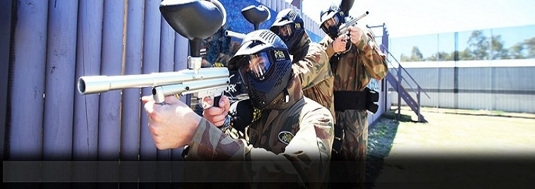 Delta Force Newcastle paintball centre