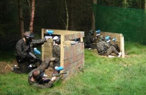 Paintballing